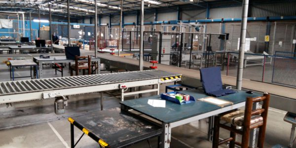 Worldwide Couriers Document Sorting Equipment
